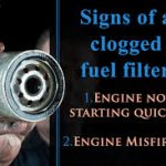 bad fuel filter symptoms