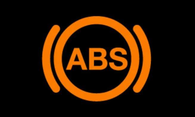 Blinking ABS Warning Light
