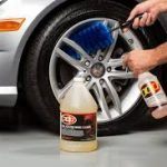 Clean Wheels on Car