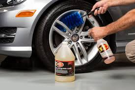 Cleaning wheels and rims