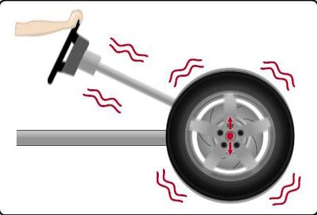 tire steering wheel vibration