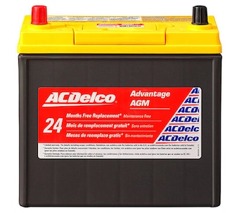 High cold cranking capacity AcDelco batteries