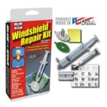 Blue star glass windshield repair kit (Key Star Fix chip on glass)