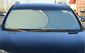 Protect vehicles interior sun shades
