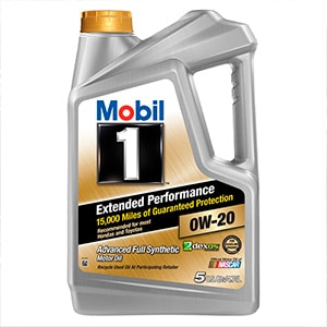 Mobil Extended Performance 0w-20 Synthethic Oil is the best of best 5 quart oil bottle