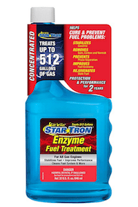 Stabilizes fuel and boost gas mileage fuel injector cleaner