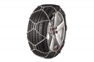 Super secure cable design and easy to be installed tire chains for snow