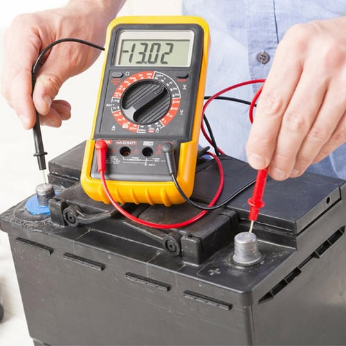 Testing car battery and starter problems