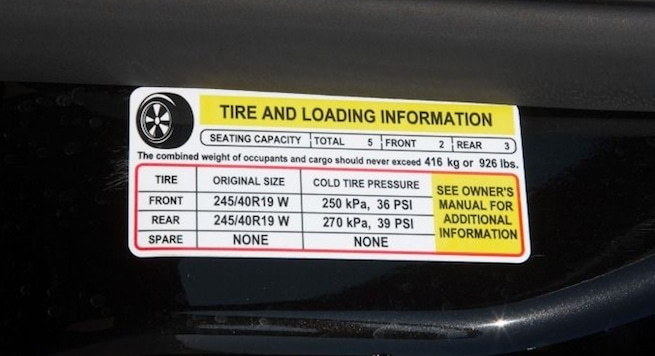 Finding the righ PSI for you car tires