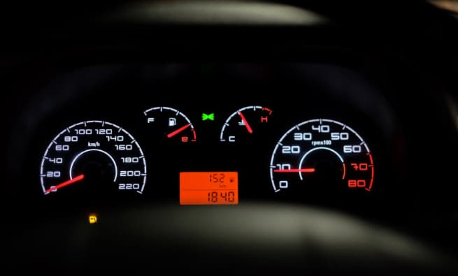 Check car mileage on used vehicles
