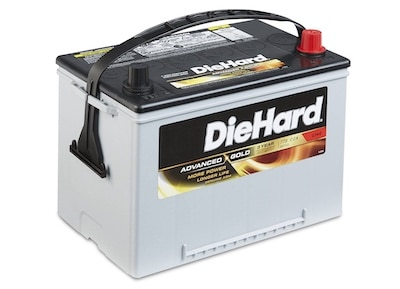 Diehard Battery with high cranking amps rate