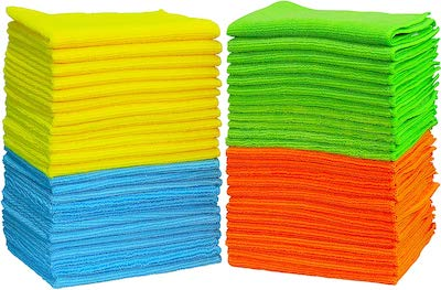 Use microfiber cloth when washing your car