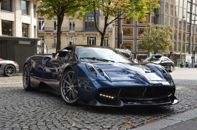 What can a Pagani luxury car say about you?