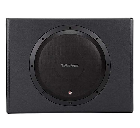 Rockforg Fosgate active powered car subwoofer top high level sub