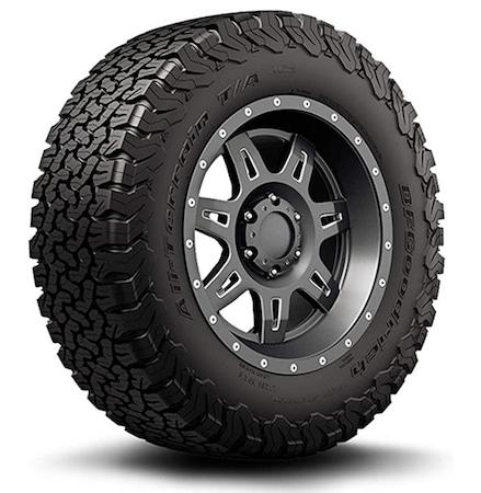 BFGoodrich top mud and off-road tires