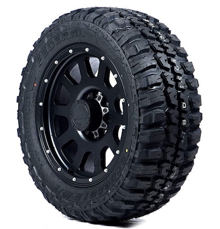 Federal tires for mud tracks