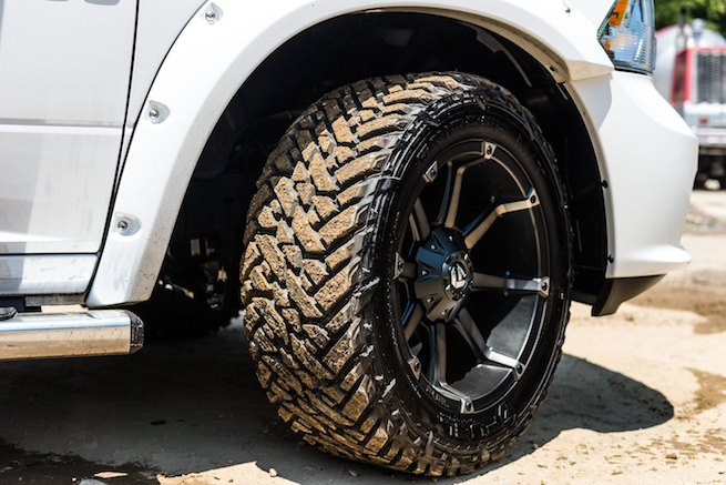 Mud tires for big trucks