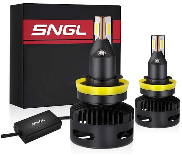SNGL Super Bright LED Headlight Replacement Bulbs