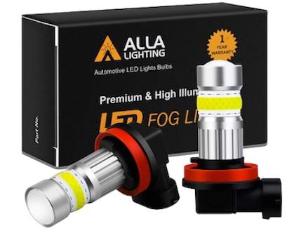 Alla Lighting 2800lm H8 H11 LED Fog Lights