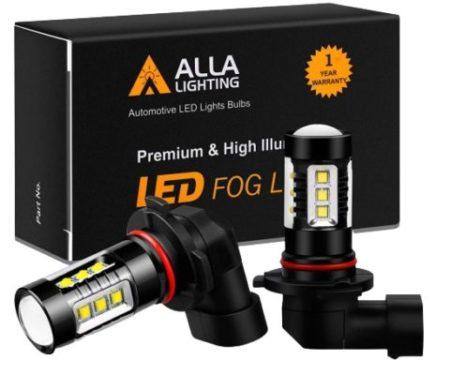 Alla Lighting 3200 Lumens LED Fog Light Bulbs e1599244515808