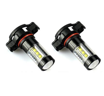 JDM ASTAR Bright White LED Fog Light Bulbs