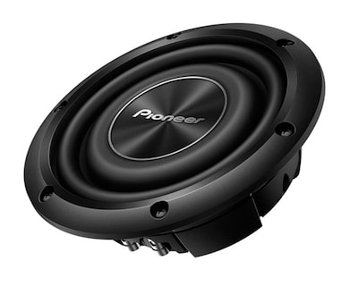 Pioneer 8 Inch Shallow-Mount Subwoofer