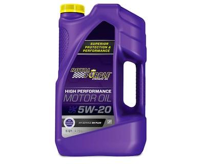 Royal Purple 51520 API-licensed SAE 5W-20