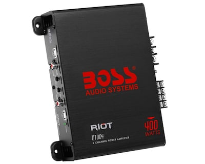 BOSS Audio Systems R1004 4 Channel Car Amplifier