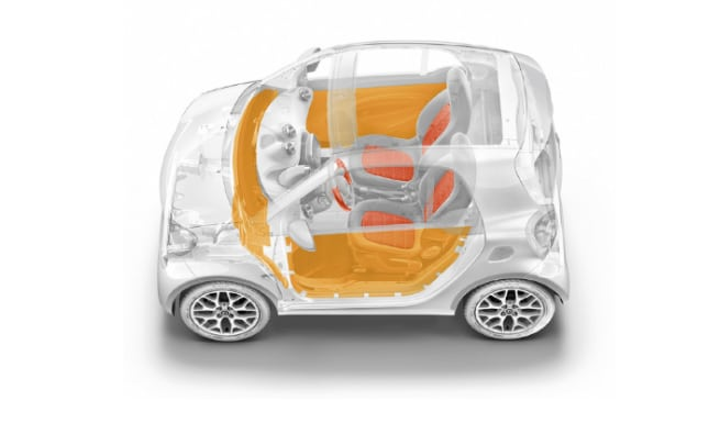 Fortwo Smart Car design specifications