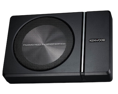 Kenwood KSCPSW8 Underseat Subwoofers for Cars