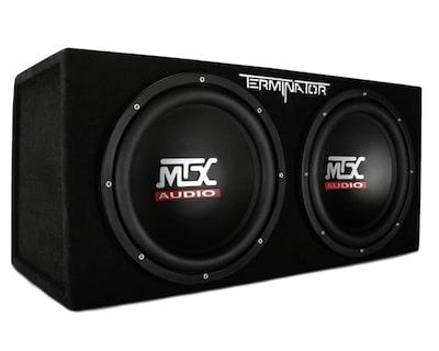 MTX Audio Terminator Series TNE212D Dual Car Subwoofers