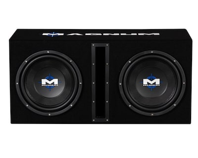 MTX Magnum MB210SP Dual 10 Inch Sub Combo
