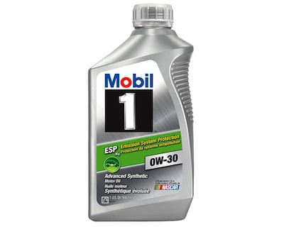 Mobil 1 121218 0W-30 ESP Synthetic Motor Oil