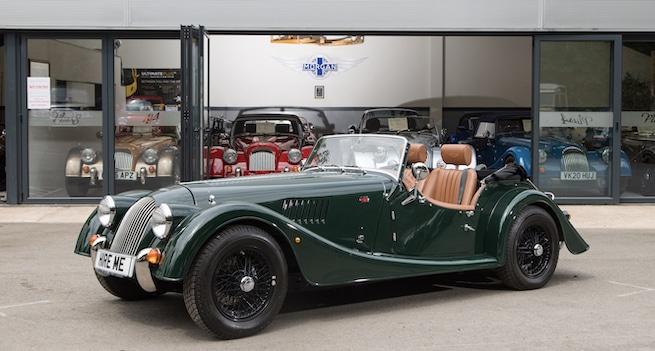 Morgan 4 series resembles a classic car to its finest