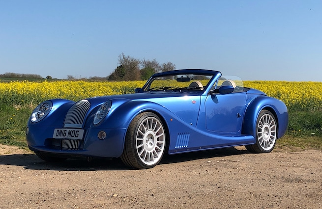 Nice blue classic Morgan Aero 8