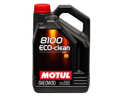 Motul 5L Synthetic Engine Oil 8100 0W30