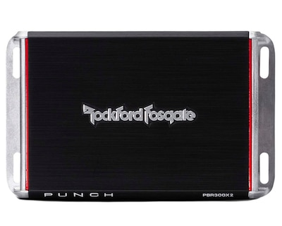 Rockford Fosgate PBR300X2 Punch 4 Channel Amp
