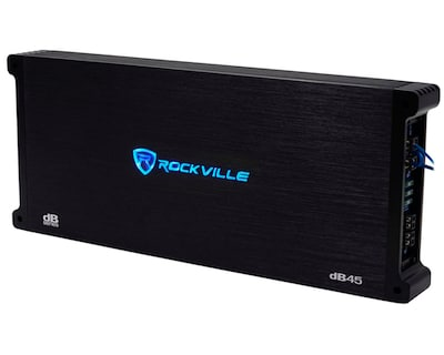 Rockville dB45 3200 Watt:1600w RMS 4 Channel Amplifier