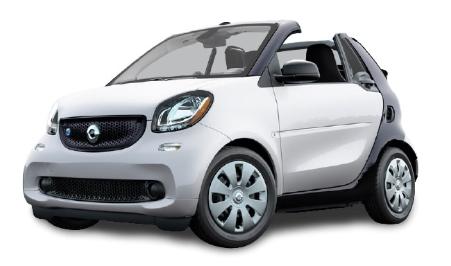 Third generation Smart Car ForTwo White