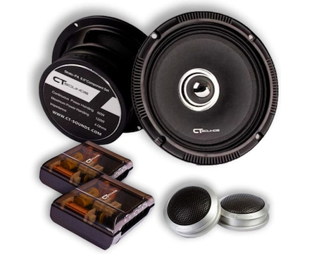CT Sounds Strato 6.5 Inch Component Full Range Speakers