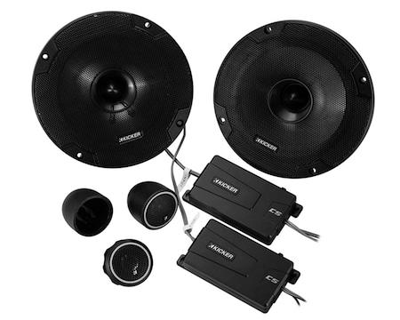 Kicker 46CSS654 Component Full Range Stereo Speakers