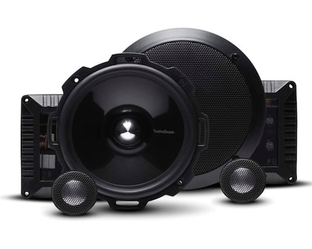 Rockford Fosgate T2652-S Aluminum Component Speaker System