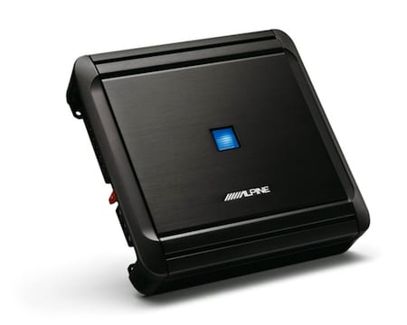 alpine mrvf300 4-channel bridgeable amplifier