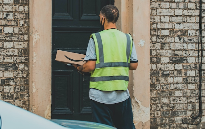 Make money delivering packages for Amazon