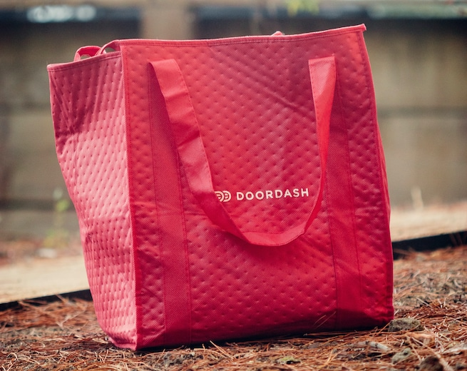You can deliver groceries and get paid with DoorDash