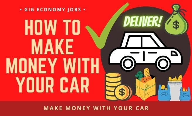 How to Make Money With Your Car