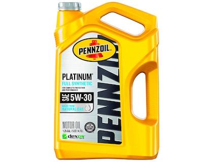 Pennzoil Platinum Best Full Synthetic Oil 5w30