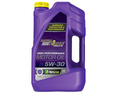 Royal Purple High-Performance 5w30 Motor Oil