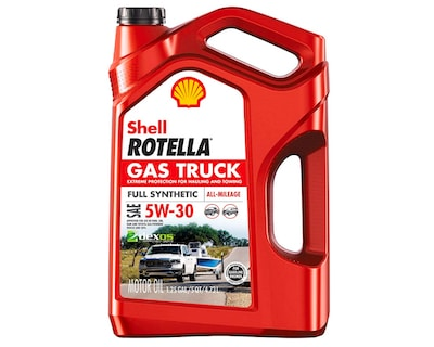 Shell Rotella Gas Truck Best 5W30 Oil For Pickups