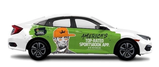 Wrap a car an make money when you drive it